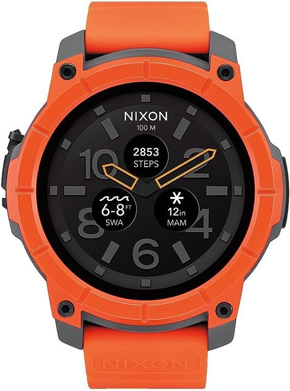 Nixon Reloj Analógico para Hombre de Cuarzo con Correa en Silicona ...