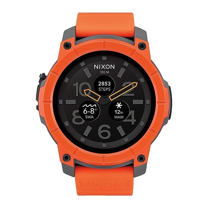 Amazon.com: Nixon Misión A1167 – 2658 SmartWatch Reloj ...