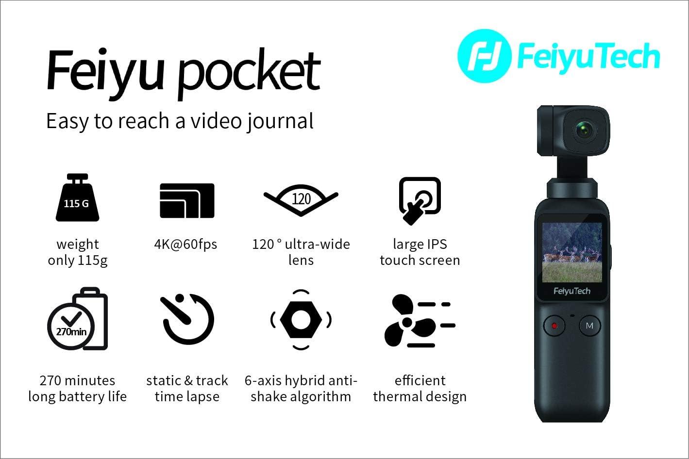 Feiyu WG2 Upgraded 3-Axis Wearable Gimbal Estabilizador ...