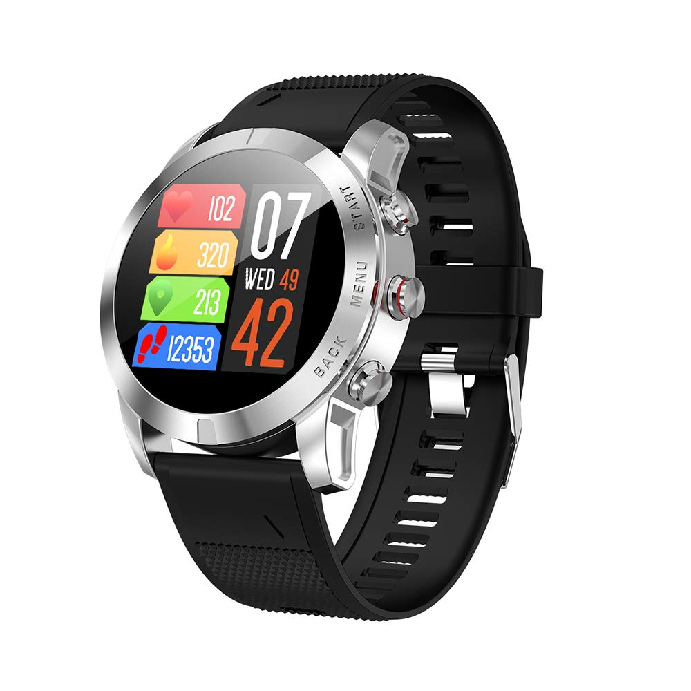 Festnight DTNO.I S10 Smartwatch 1.3 Pulgadas IP68 Monitor de ...