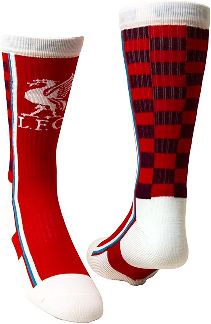 Mens Socks 1 Pack - Size 6-11 Liverpool F.C - GIFT