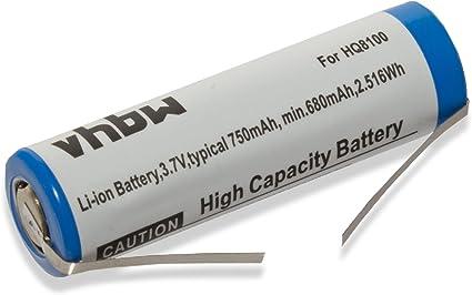vhbw batería 750mAh para afeitadora Philips Speed XL HQ 8100 ...