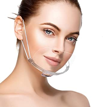 Face Shield f/ür Mund Nase 10 St/ück B Schutzvisier in Transparent 10 x Kinder Gesichtsvisier aus Kunststoff Universal Gesichtsschutz Visier zum Schutz vor Fl/üssigkeiten