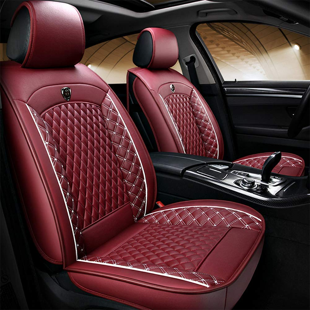 Lafitered Car Seat Cover Four Seasons Dedicated Full Leather Seat Car Seat Four Seasons Universal Seat Cushion All-Inclusive Seat Cover