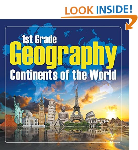 Workbook continents for kids worksheets : Books for 2nd Grader: Amazon.com