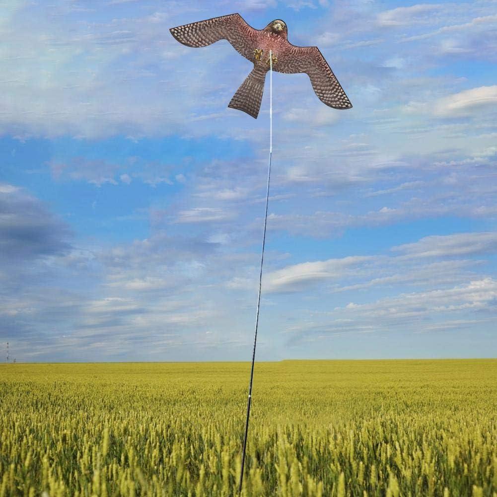 Eagle Kite Realista P/ájaro Duradero Repelente Flying Kite Emulaci/ón Flying Drive Bird Kite Espantap/ájaros Juguete se/ñuelo para jardiner/ía Farming Protector