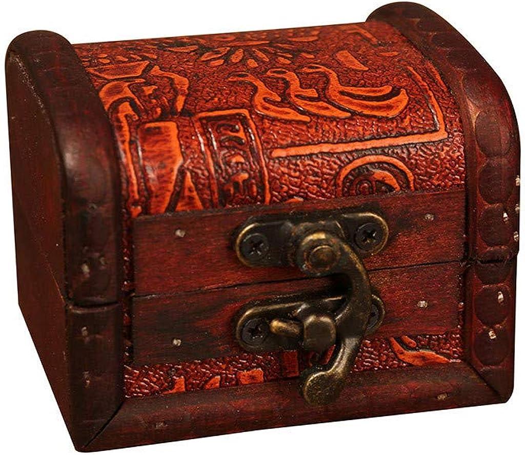 Caja de joyas de madera, vintage con grabado a mano, caja de almacenamiento, cerradura de metal, perla, joyero, caja para joyas, objetos para la casa, para mujer o hombre: Amazon.es: Relojes