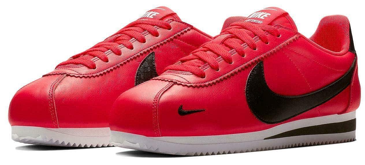 a38b3aee2a7d Nike Men's Classic Cortez Premium Shoes (Red Orbit, 11 D(M) US)