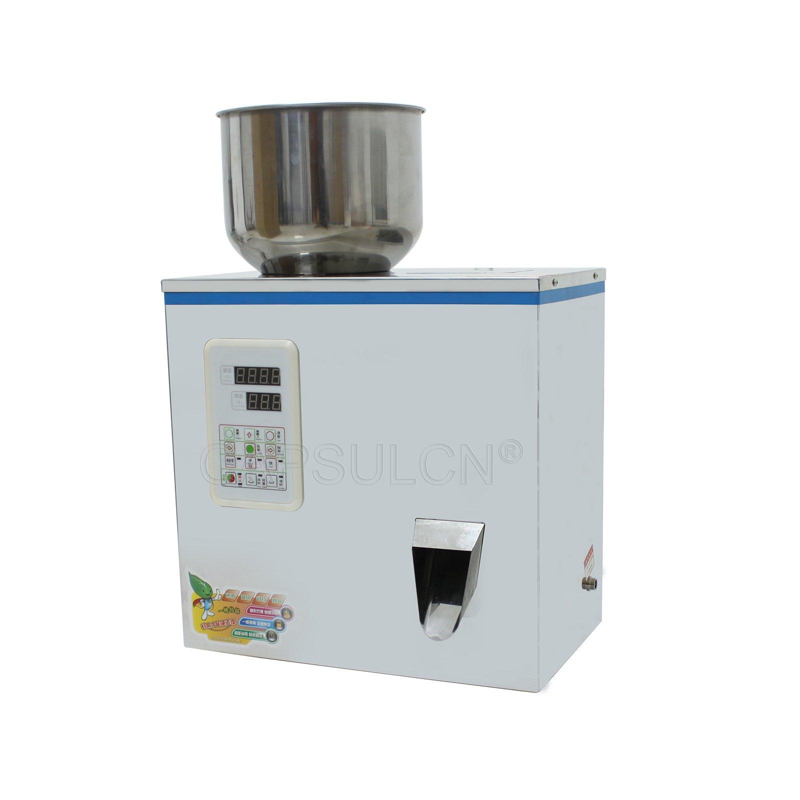 CapsulCN 110V FZZ-1 Auto Weighing and Filling Machine Powder & Granule Dispenser (1-50g)