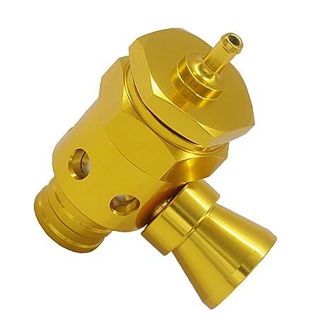 Sharplace Turbo Boost Válvula de Alivio de Presión de Soplado BOV con Silbador - Oro