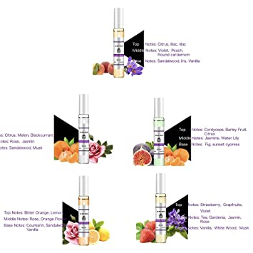 Amazon Com Hot Sale 5 Pcs Perfume Gift Set For Women Flower