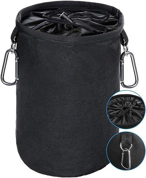 cesto pinzas ropa impermeable, con 2 Clips para Colgar y Mantener Las Pinzas limpias y secas para Uso en Interiores y Exteriores, Organizador de Almacenamiento: Amazon.es: Hogar