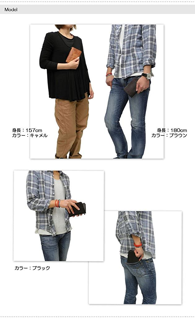 SOLATINA horse/_leather Bi-fold wallet SW-38151