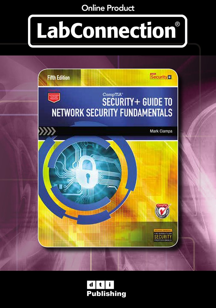 Amazoncom Labconnection For Ciampas Security Guide To Network