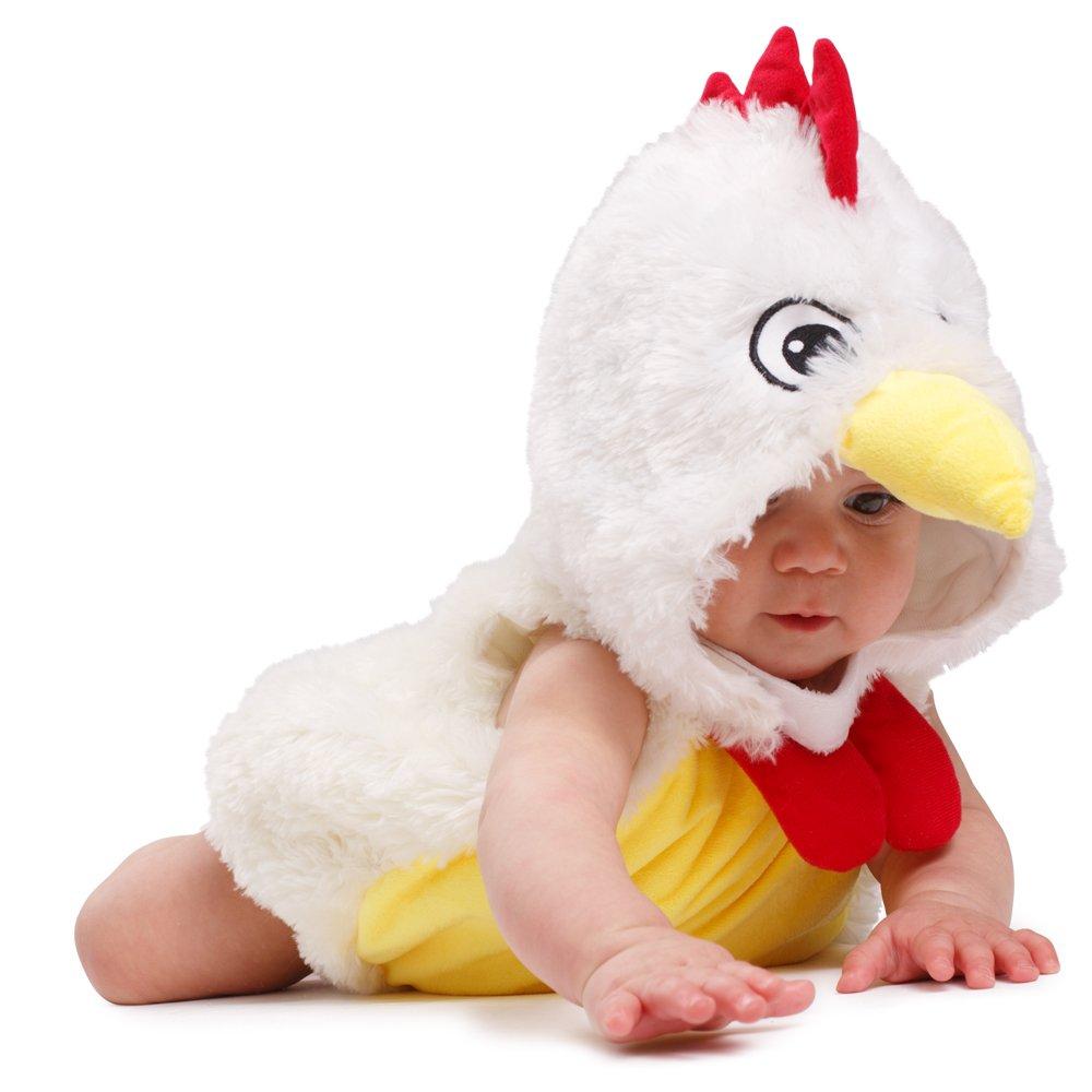 6d51dc6eb0185 Dress Up America Costume adorable de bébé de poulet de coq de peluche de  bébé  Amazon.fr  Jeux et Jouets