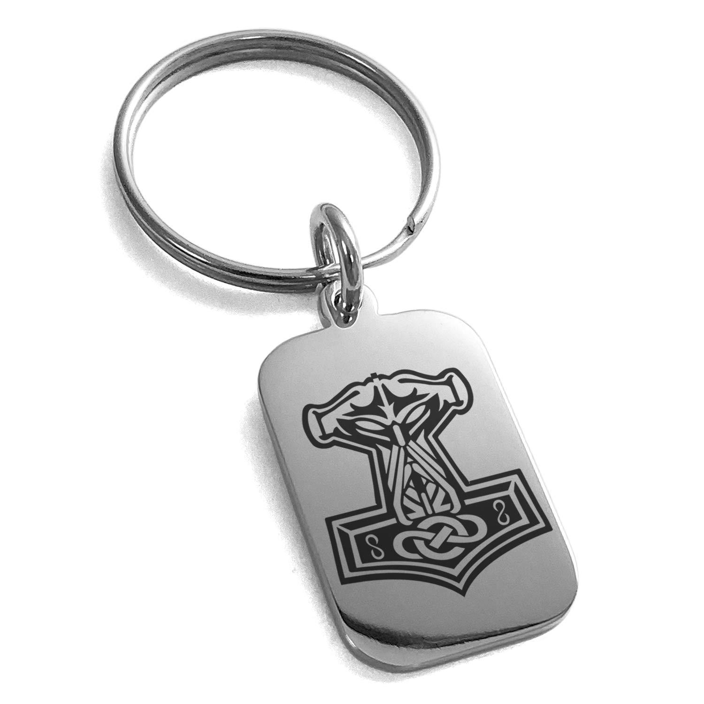 Amazon.com: Llavero de acero inoxidable con el símbolo de ...