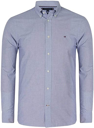 Tommy Hilfiger Natural Soft On End Shirt Camisa para Hombre: Amazon.es: Ropa y accesorios