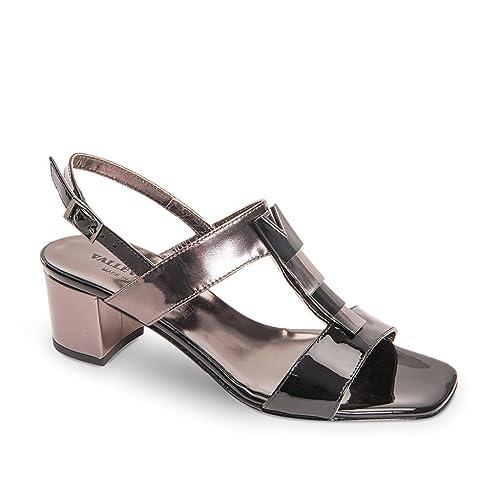 Zapatos cueroAmazon Mujer Sandalia de bajo Joya tacón de Valleverde roeBWQdxC