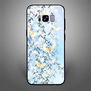Samsung Galaxy S8 Blue Yellow Butterflies, Zoot Designer Phone Covers