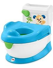 Fisher-Price Orinal aprende con Perrito, orinal bebé +1 año (Mattel FRG80