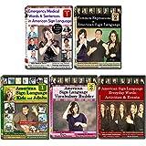 Sign Language Starter Kit (5 DVDs)