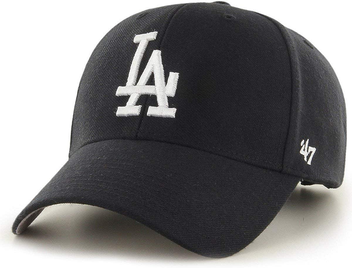 1X L.A Dodgers official licened Hat adjustable Black on Black