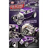 1932 Ford 3 Three Window Coupe Purple Release #4 Grand National Deuce Series Limited to 996pc. 1/18 by Acme A1805009 by ACME