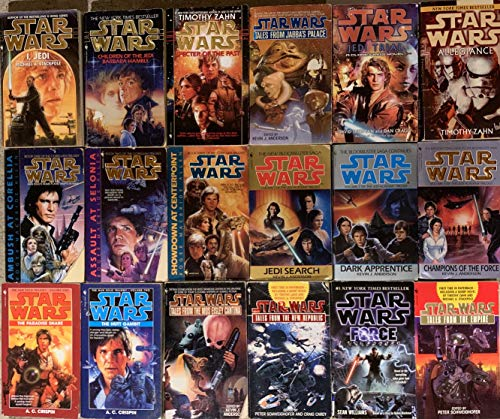 Star Wars Universe Prequel and Sequel Novel Collection