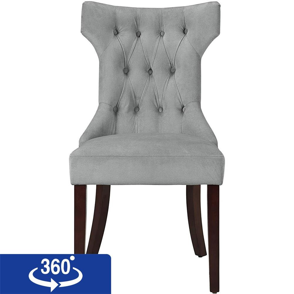 Dorel Living Clairborne Tufted Upholestered Dining Chair ...