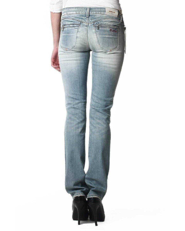 Replay Damen Jeans Paubdul W469, Länge:L34, Größe:26: Amazon.de: Bekleidung