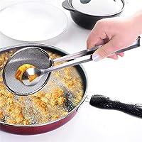 Jintes Cucchiaio filtrante multifunzionale New Kitchen con filtro per alimenti e olio per barbecue Scolapasta