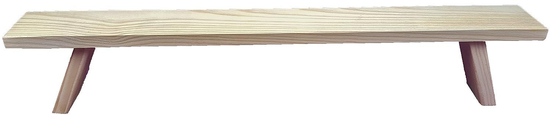 mumba Unterstellbank Fu/ß Erh/öhung Bank Fensterbank f/ür Schwibbogen Lichterbogen Breite 60 cm