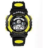 Tonsee ボーイズ キッズ スポーツ腕時計 子供用腕時計 デジタル表示 多機能ウォッチ