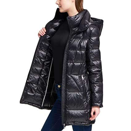 Andrew Marc Ladies Packable Down Jacket