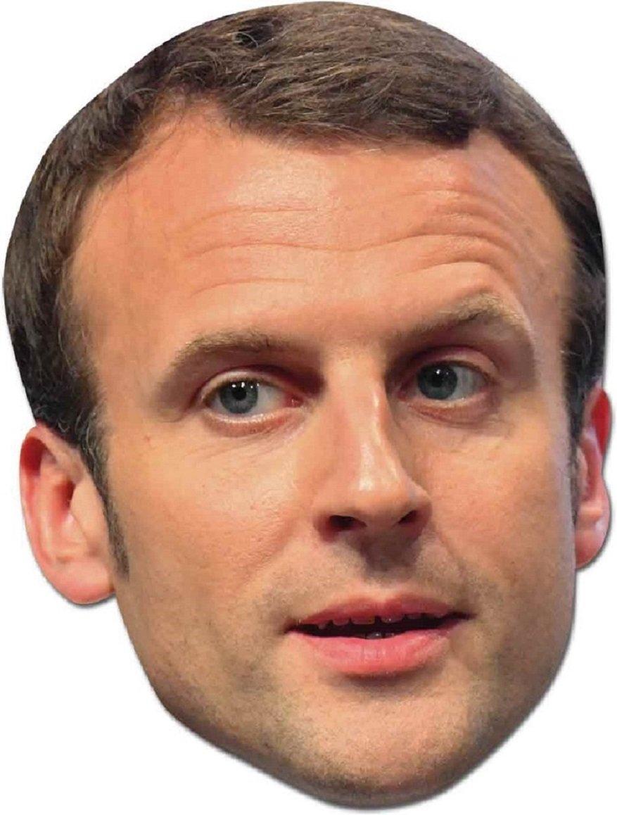 standard Star Cutouts SM257/Emmanuel Macron Mask