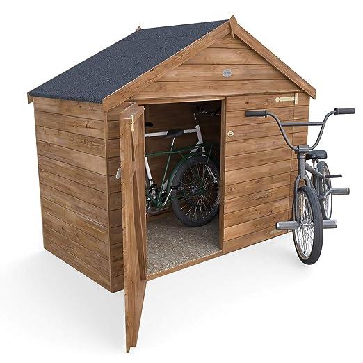 Dunster House - Cobertizo de Bicicleta para Exteriores con Fieltro ...