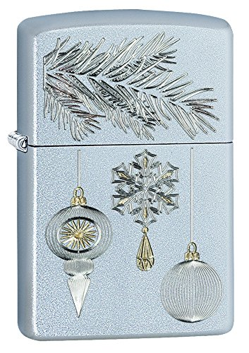 Zippo Silver & Gold Ornament Pocket Lighter
