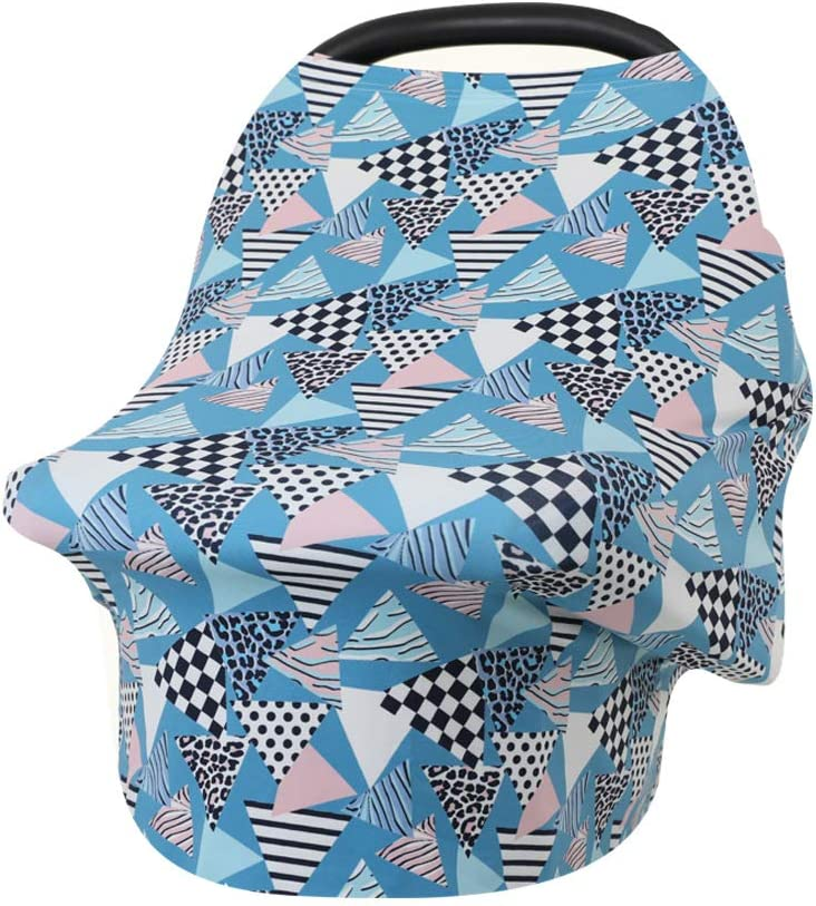Baby Carseat Canopy Dinosaur 004 Multi-Use Breastfeeding Nursing Cover Shopping Cart Covers