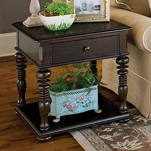 Paula Deen Home Rectangular End Table, Tobacco