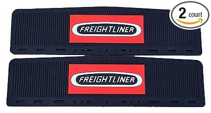 Semi Mud Flaps >> Amazon Com Freightliner Trucks 6 X 24 Semi Truck Rubber