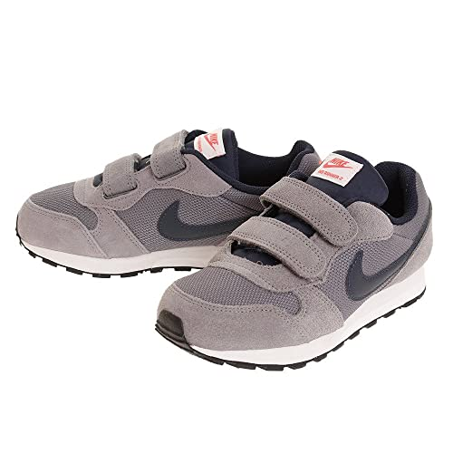 Nike - MD Runner 2 PSV - 807317012 - El Color: Grises - Talla: 33.5: Amazon.es: Zapatos y complementos