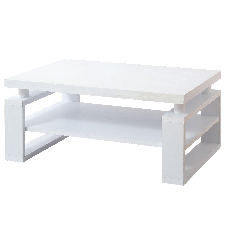ワイエムワールド おしゃれ リビングテーブル ミル 90×60cm 【カラー: ホワイト 】 34-130 B0727TLLCZ Parent ホワイト