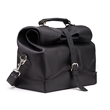 03c0291dde Image Unavailable. Image not available for. Color  Saddleback Leather Co.  Mens Overnight Leather Carry On Travel Duffel Bag Includes 100 Year Warranty