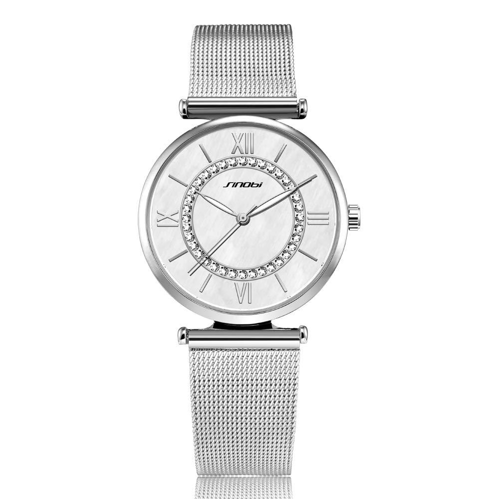Amazon.com: SK Women Watches Ultra Thin Quartz Watches Elegant Dress Girls Ladies Wristwatch (11S9631G01): Watches