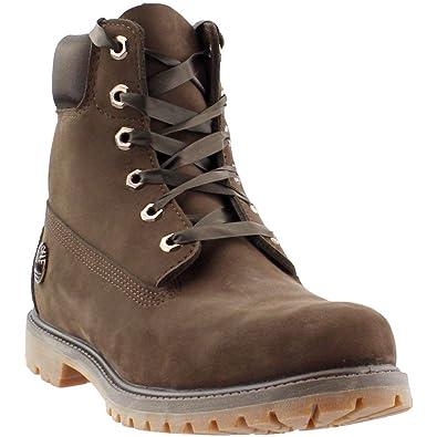 44ca411db193 Timberland Women s 6 quot  Premium Waterproof Boot Dark Brown Nubuck ...