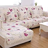 Summer European Anti-skid Pad/Fabric Four Seasons Simple Sofa Towel/Modern Sofa Pad/Solid Wood Sofa Sets-A 90x120cm(35x47inch)