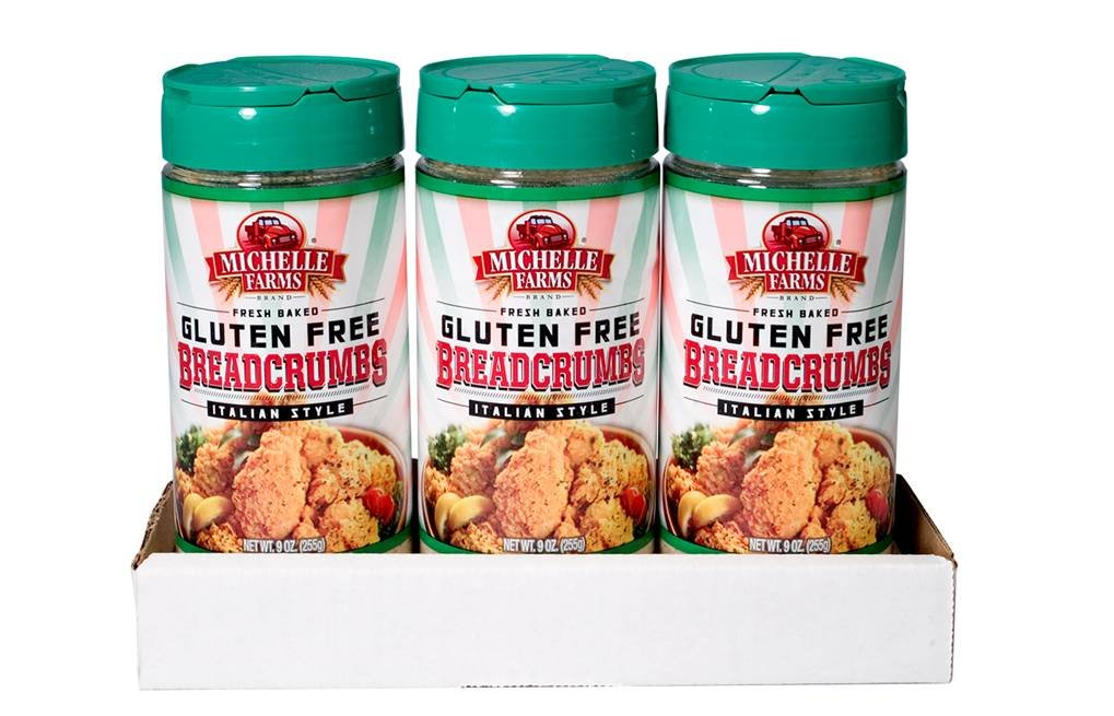 Michelle Farms Gluten Free Bread Crumbs, Italian, 27 Ounce
