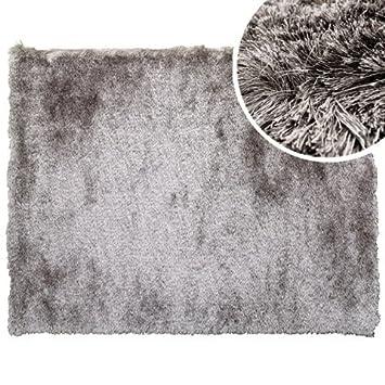 clara vidal alfombra de pelo stone170x240 cm color gris - Alfombra Gris