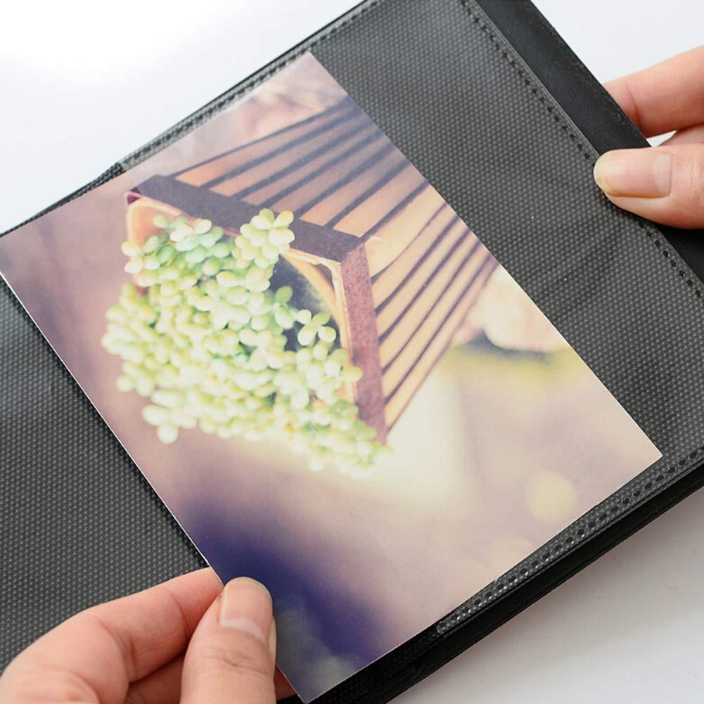 SEniutarm 64//32 Pockets Photo Album Picture Storage Case Mini Memorial Album for Polaroid Fujifilm Instax Blue 3Inch