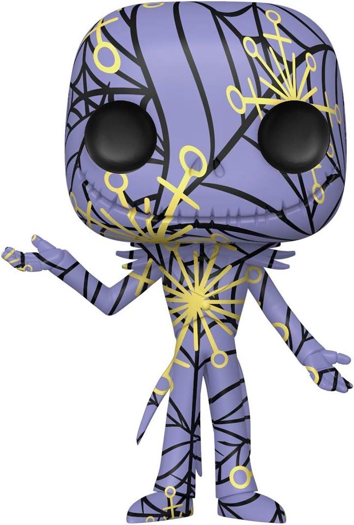 Artists Series Funko- Pop Disney: The Nightmare Before Christmas-Jack w//Case Figura da Collezione 49300 Multicolore